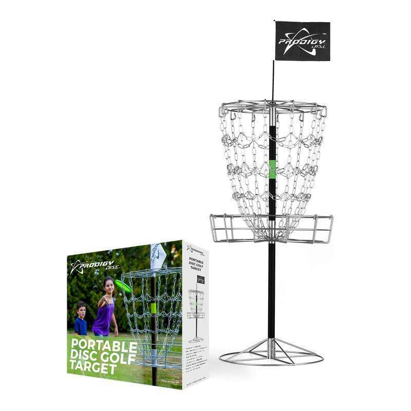 Prodigy Portable Disc Golf Target Basket - 1010 Discs