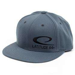 Latitude 64 Snapback Flat Bill Adjustable Hat - 1010 Discs