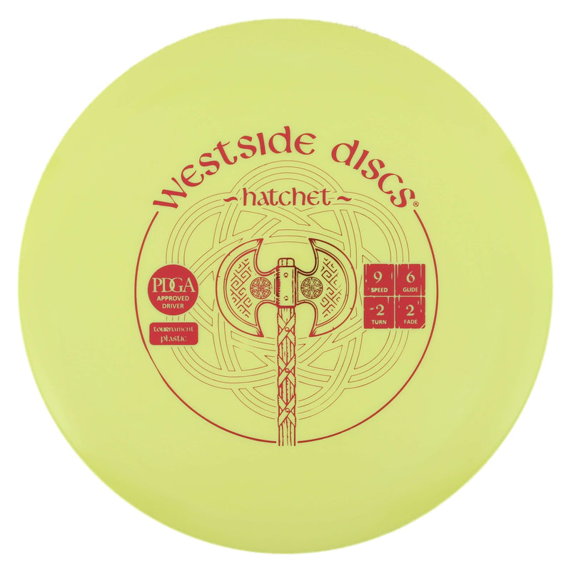 Westside Hatchet Understable Fairway/Control Driver - 1010 Discs