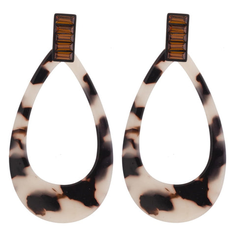 SUEDE SUNSET HOOPS