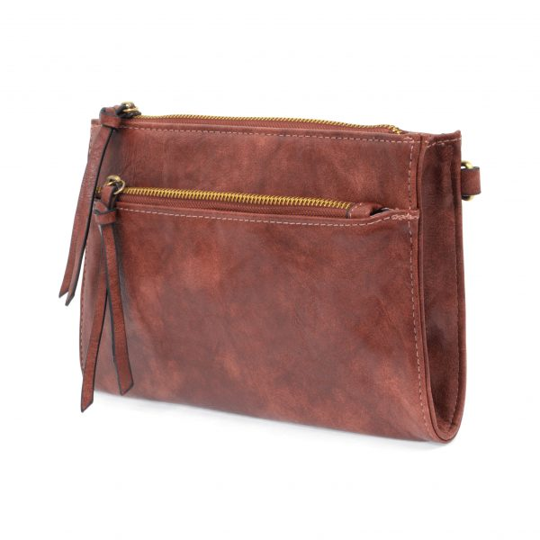 CECE VINTAGE CROSS BODY-RED OAK