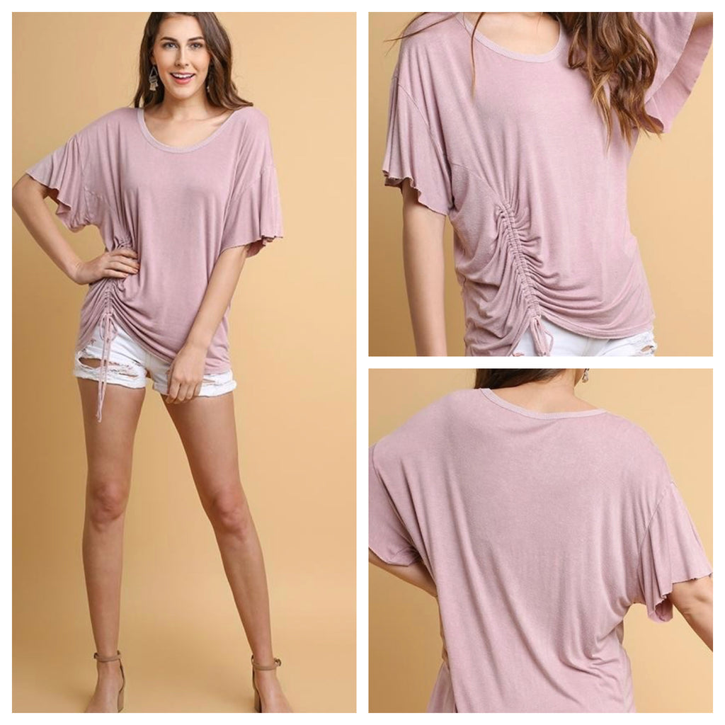 ELLA SCOOP NECK TOP