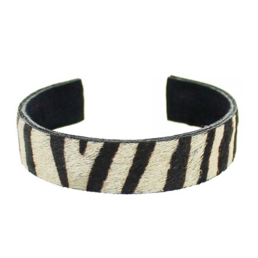 AFRICAN QUEEN LEATHER STRIPE BRACELET