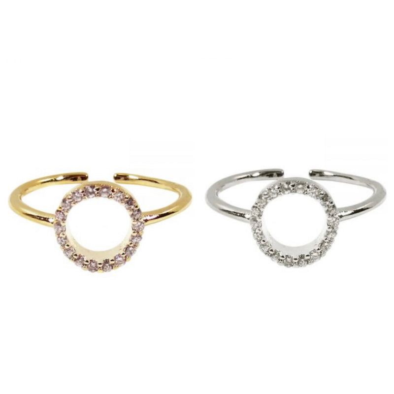 CIRCLE CRUSH RING