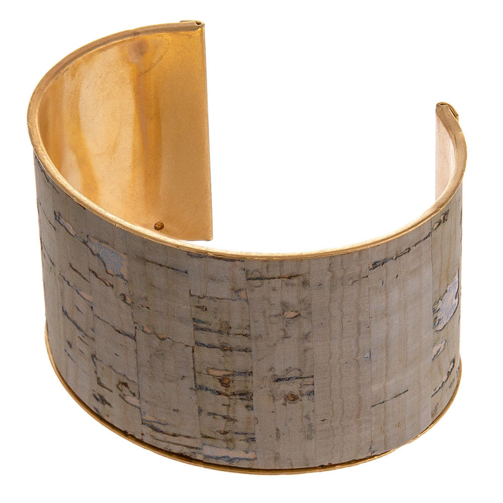 SOBREIRO WIDE CORK CUFF-GREY