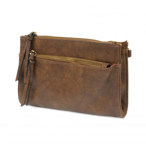 CECE VINTAGE CROSS BODY-MOCHA