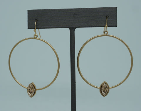 SUNRAY HOOPS-NATURAL