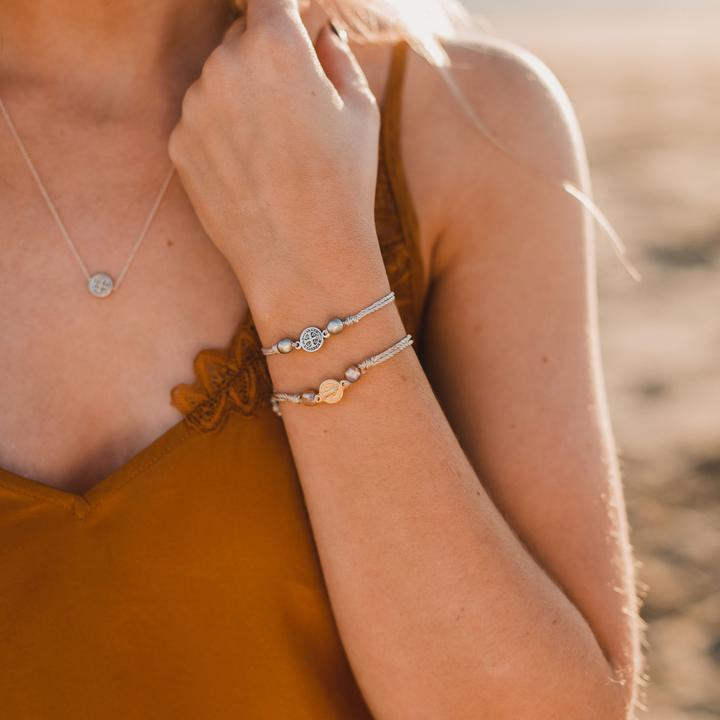 MY SAINT MY HERO JOY BRACELET- GOLD/METALLIC ROSE GOLD