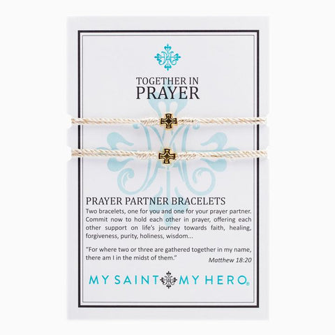 MY SAINT MY HERO BREATHE BRACELET- GOLD METALLIC