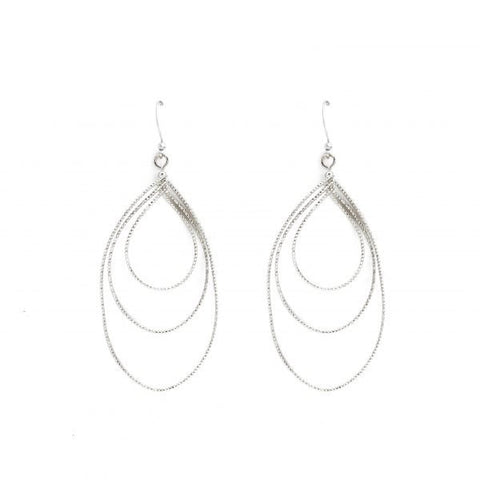 CAST IN STONE DROP EARRINGS
