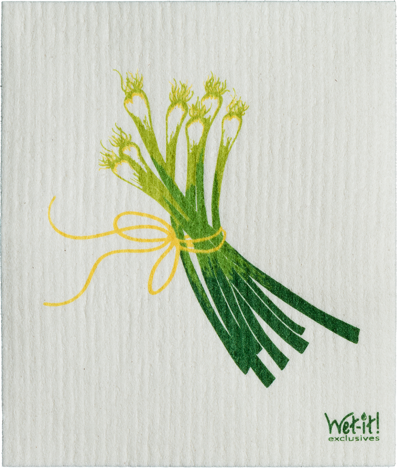 SWEDISH CLOTHS-SPRING ONION DESIGN