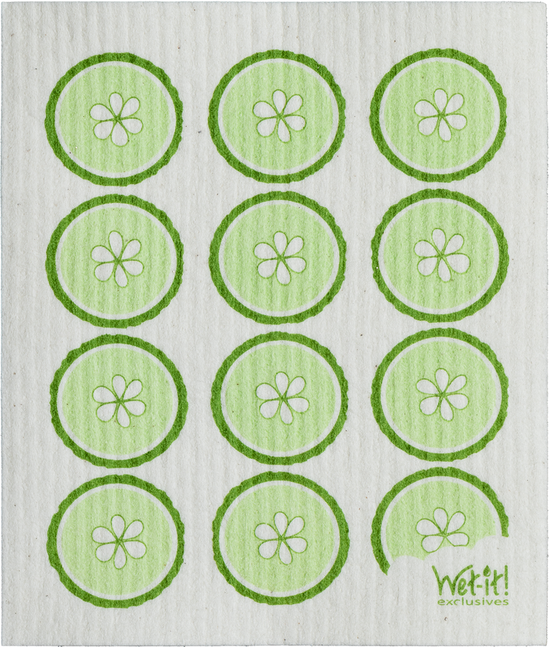 SWEDISH CLOTHS-CUCUMBER DESIGN