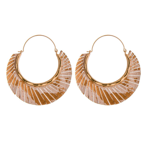 SUNRAY HOOPS-RUST