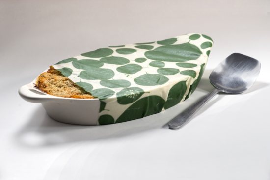 Z WRAPS REUSABLE FOOD WRAP-LEAFY GREEN (MED)