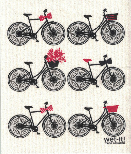 SWEDISH CLOTHS- BICYCLES DESIGN