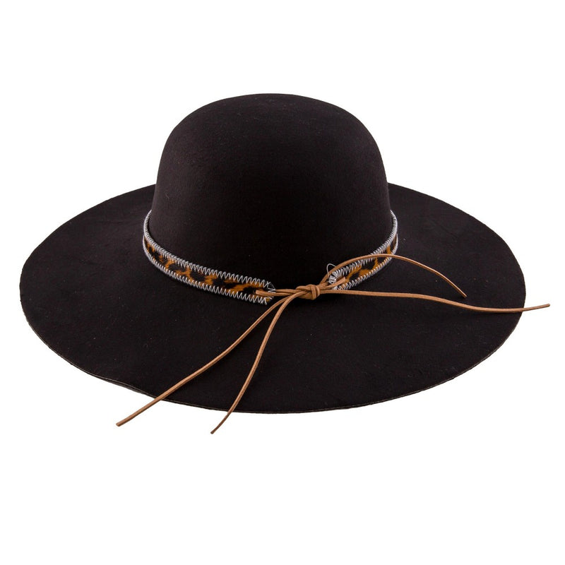LINDSEY BLACK FELT HAT