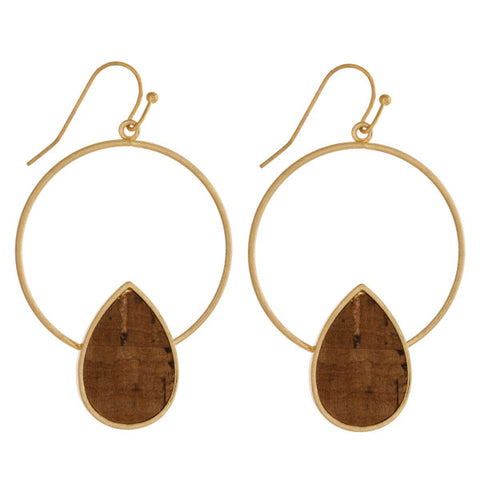 DOROTHY ACRYLIC TEARDROP EARRINGS