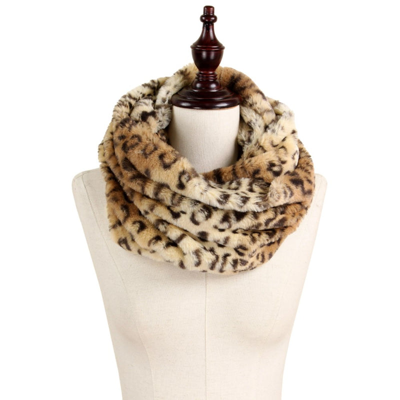 PUUURRFECT LEOPARD INFINITY SCARF