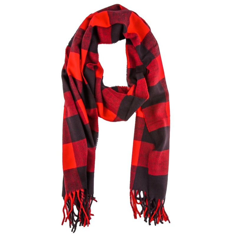 APPLESEED BUFFALO CHECK SCARF