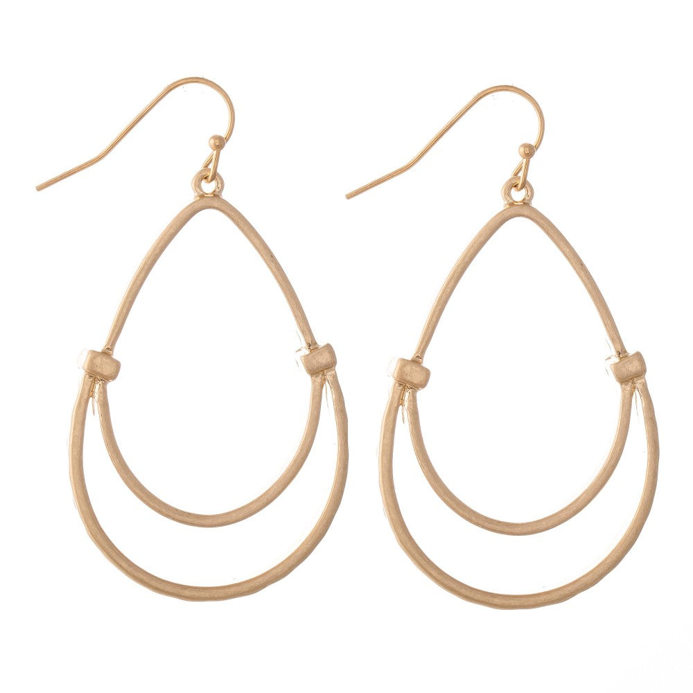GILDED TEARDROPS EARRINGS