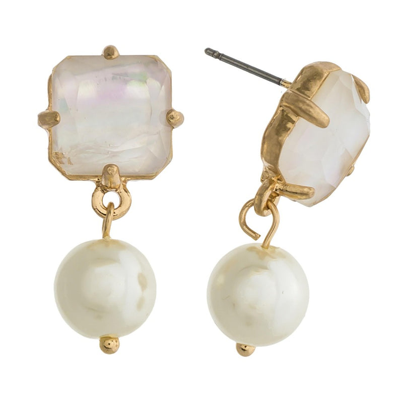 PEARL'S MY JAM EARRINGS