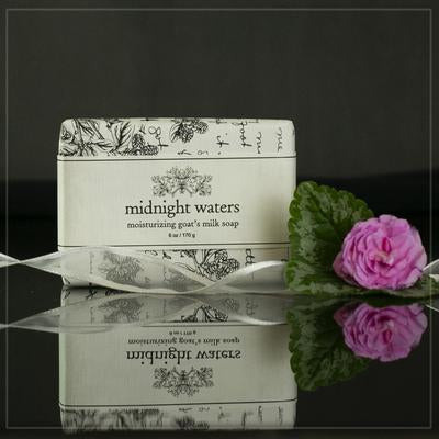 JESSIE & ELIZABETH MOISTURIZING GOAT'S MILK SOAP- 2 OZ MIDNIGHT WATERS