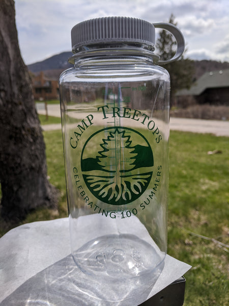 Camp Treetops -Celebrating 100 Summers- 32oz. Nalgene Water Bottle