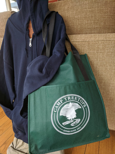 Camp Treetops Shopping Bag
