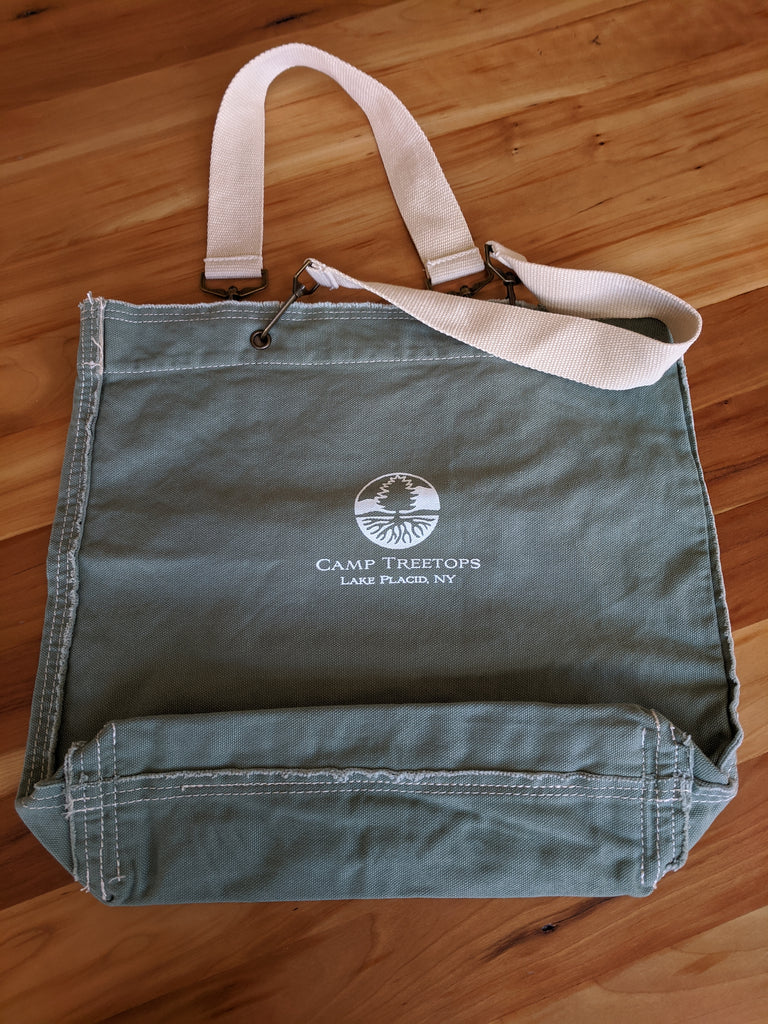 Camp Treetops Canvas Tote Bag