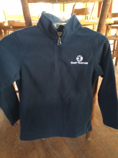 Camp Treetops 1/4 Zip Fleece Pullover