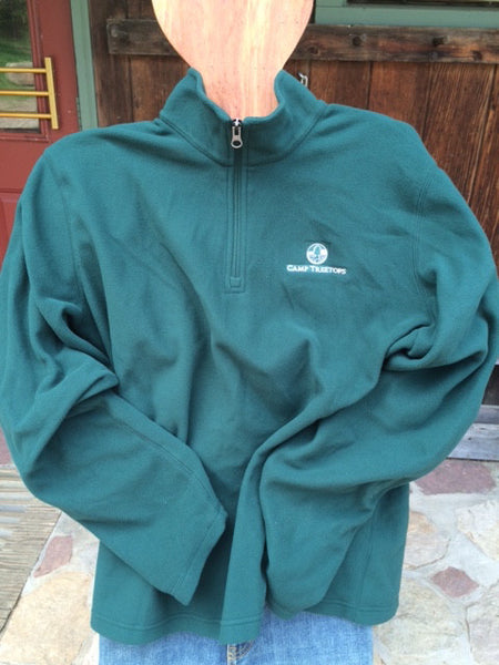 Camp Treetops 1/4 Zip Fleece Pullover - ROOTS