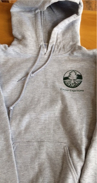 Camp Treetops Hooded Pullover Sweatshirt [Youth]