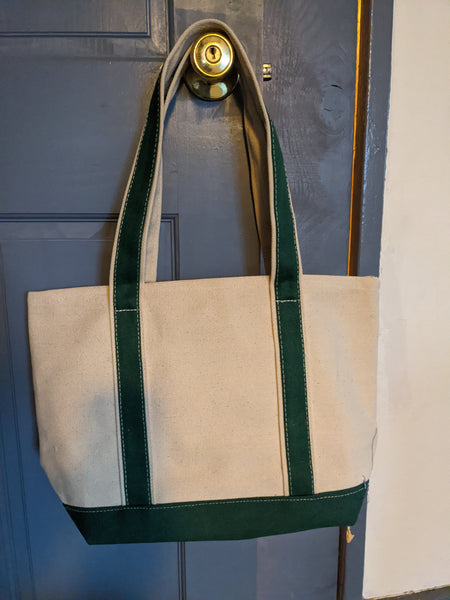 Camp Treetops Cotton Tote Bag