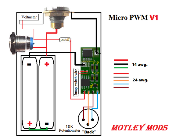 Box Mod Wiring Diagrams  U2013 Motley Mods Llc