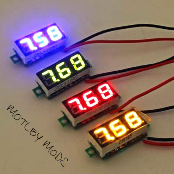 "0.28"" led Voltmeter for box mods"