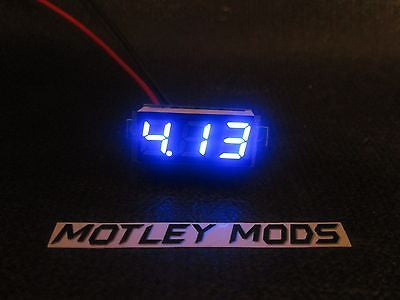 Box Mod kit 1590B Black,Blue led - Motley Mods - 5