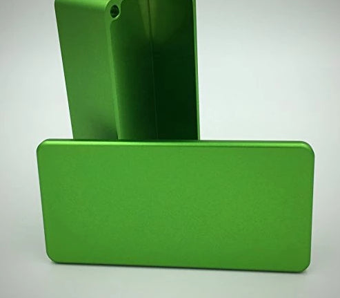 1590G CNC ENCLOSURE Dark & Light Green
