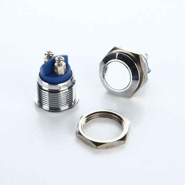 16mm Steel Flat Button - Motley Mods - 2