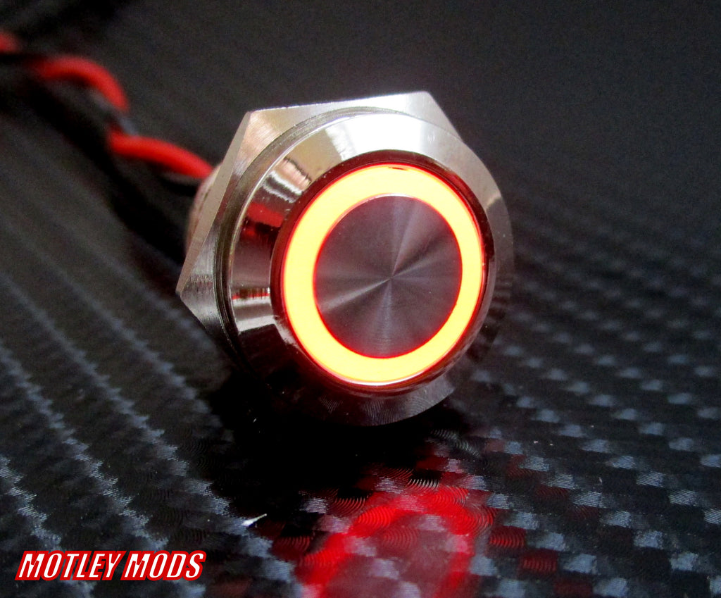 16mm Red Led