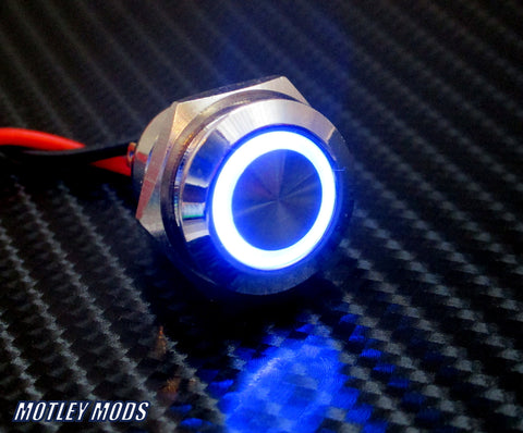 16mm Blue Led
