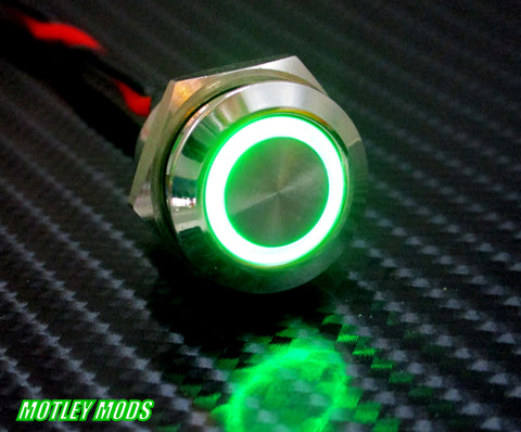 16mm Green Led