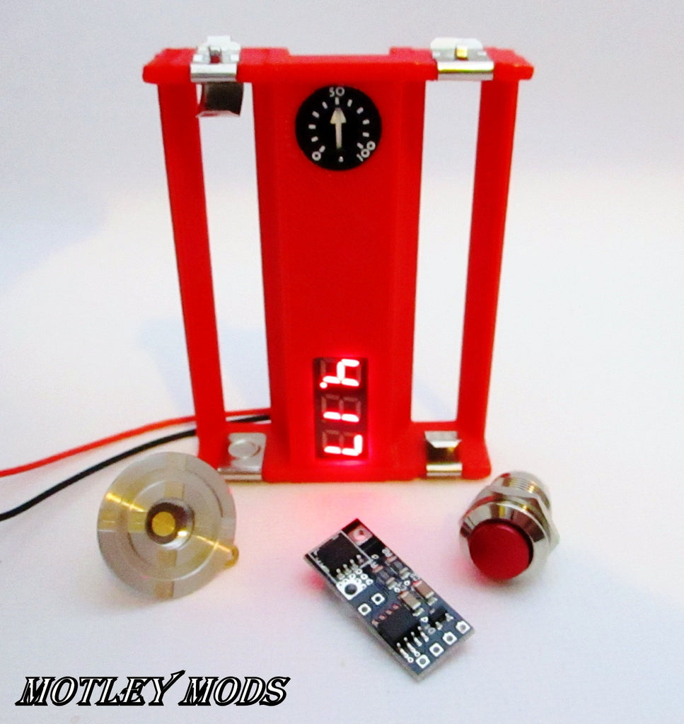 Box Mod Kit Pwm Motley Mods Llc Series With Voltmeter And Potentiometer Wiring Diagram