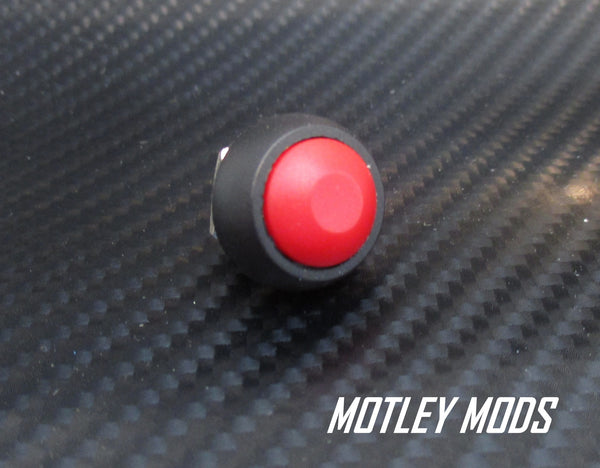 12mm Push Button Switch Domed - Motley Mods - 3