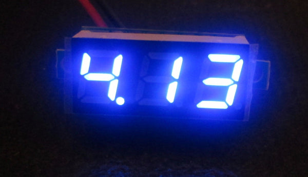 "0.28"" led Voltmeter - Motley Mods - 5"