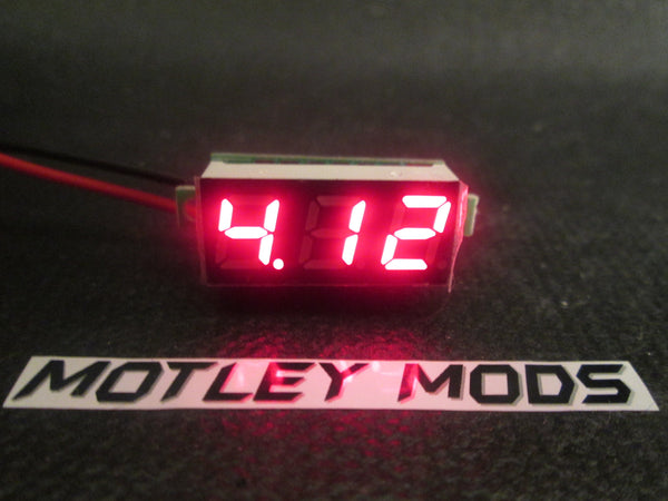Box Mod Kit 1591B Black,Red - Motley Mods - 2