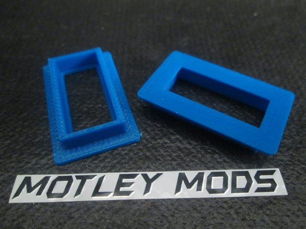 Box Mod kit CNC B,26650 Blue Led - Motley Mods - 7