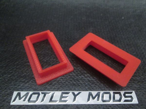 Box Mod kit CNC B-Red - Motley Mods - 9