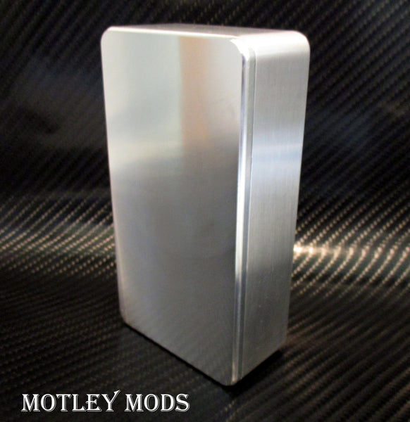 Box Mod kit CNC B,26650 Blue Led - Motley Mods - 2