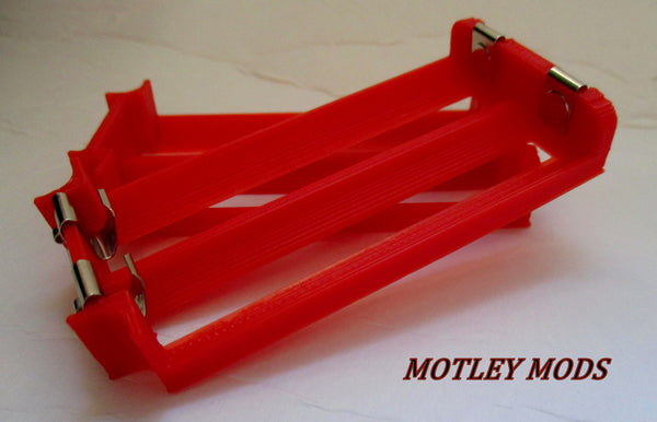 18650 Dual Battery Sleds - Motley Mods - 3