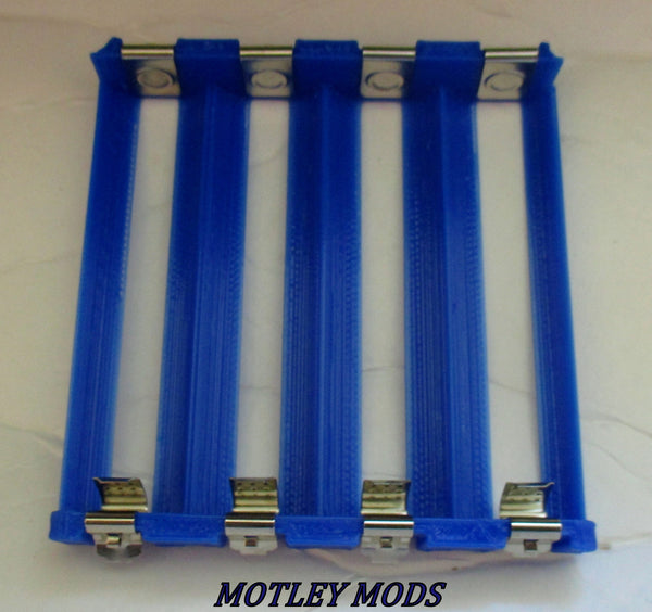 Quad 18650 Battery Sled,Multiple colors - Motley Mods - 1